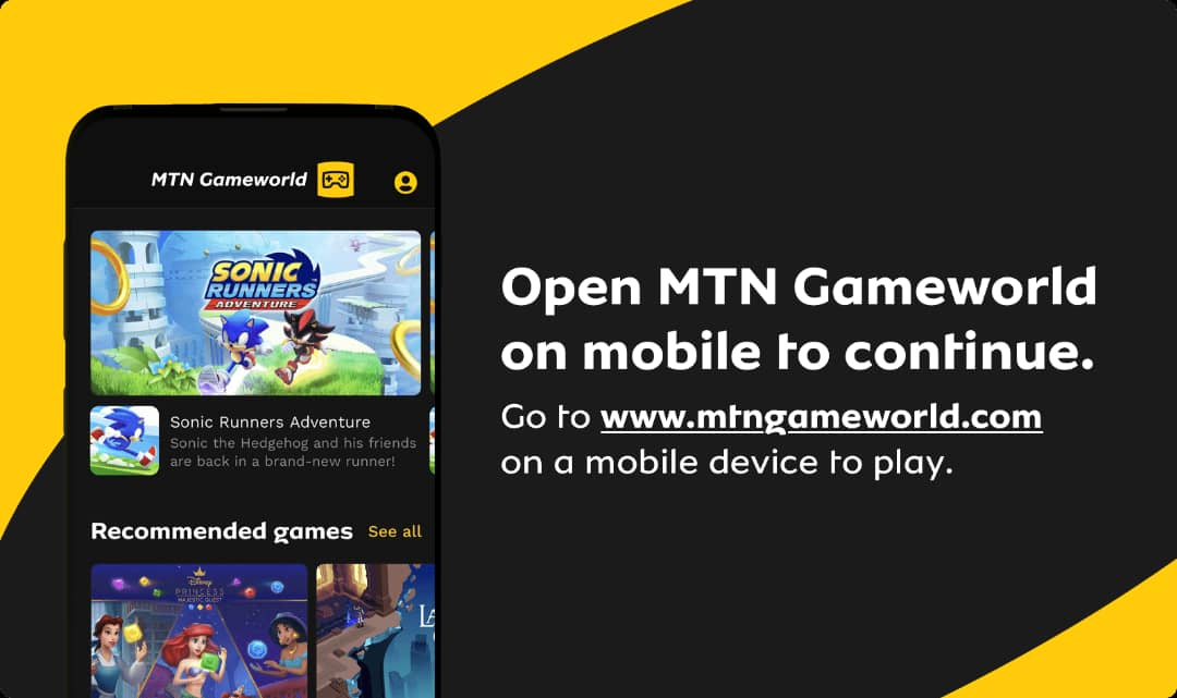 MTN partners with Gameloft on exciting new platform Brandspurng