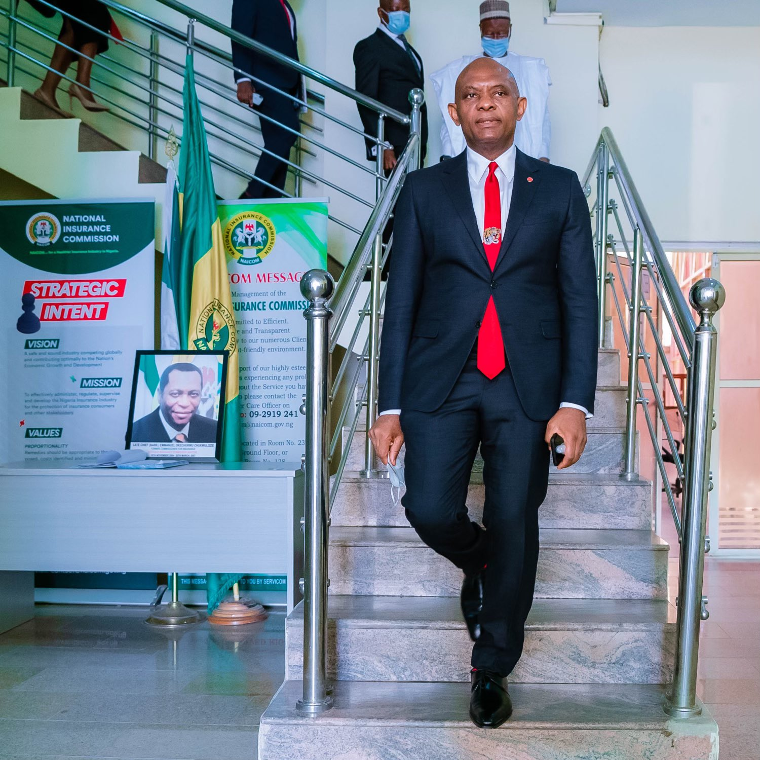 NAICOM Officially Issues Operating Licences for Heirs Holdings New Group Insurance Companies Brandspurng1