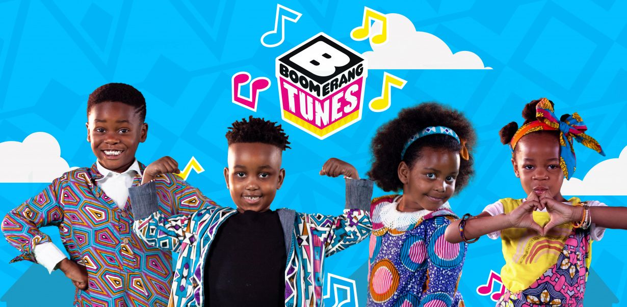 New Boomerang songs, made in Africa for Africa, bring moments for kids to share this festive season