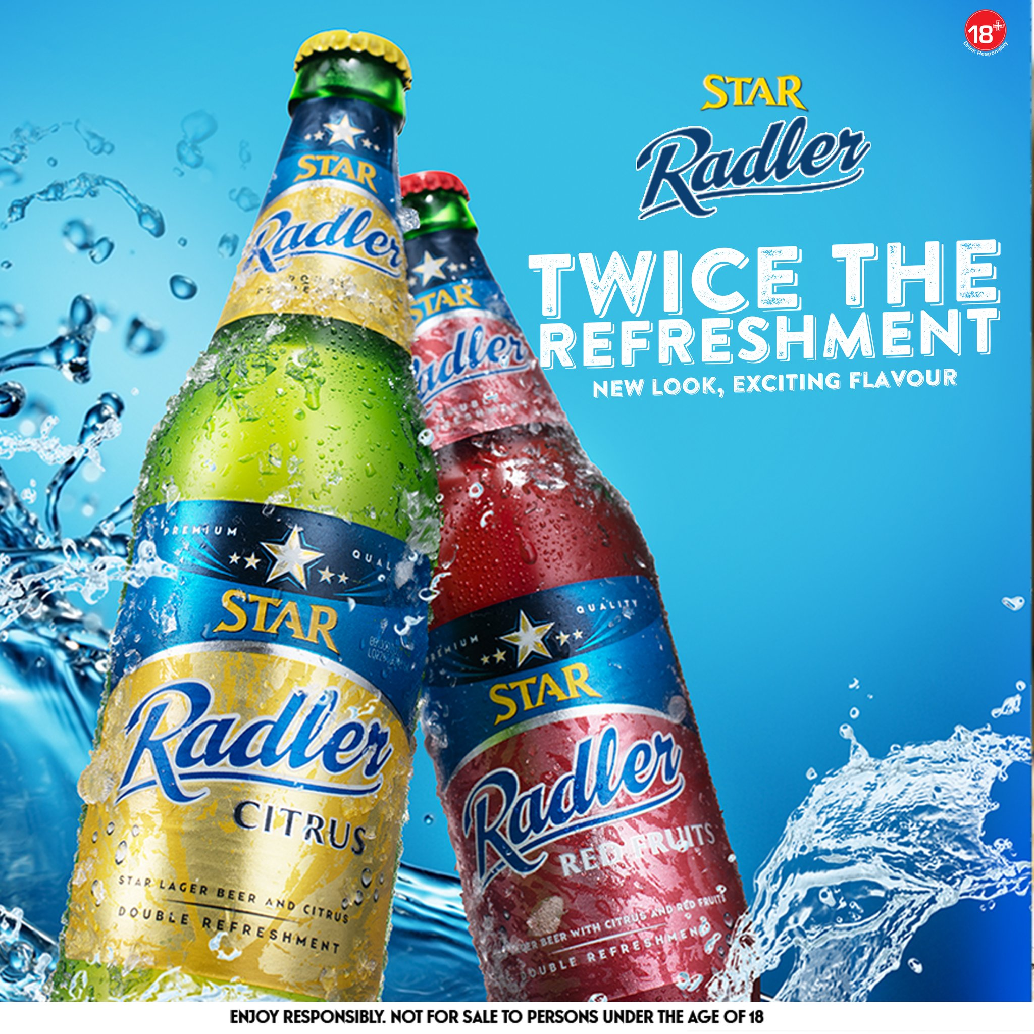 Nigerian Breweries Unveils new look, new flavour for Star Radler Brandspurng