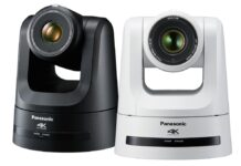 Panasonic releases 4K PTZ Camera suitable for shooting live videos