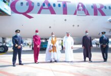 Qatar Airways Touches Down for the First Time in Abuja, Nigeria