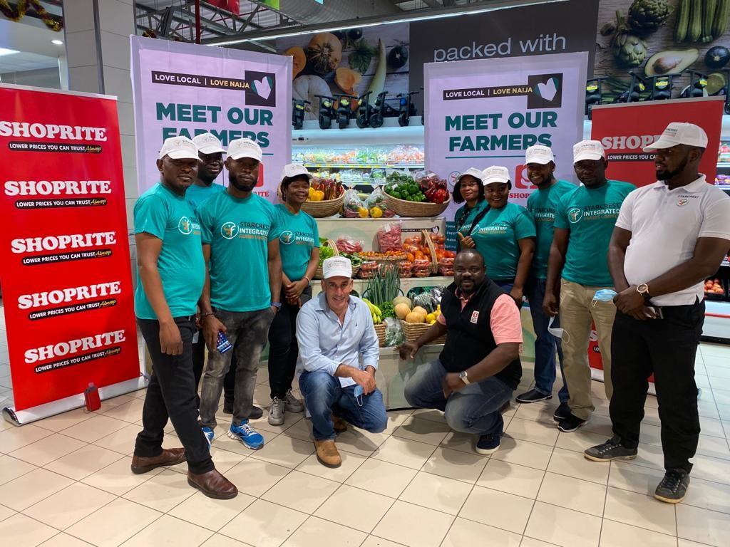 Customers meet farmers supplying Shoprite store farm-fresh produce