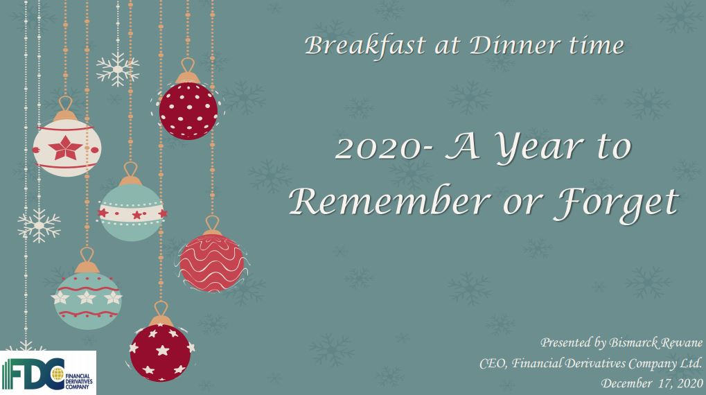 2020: A Year to Remember or A Year to Forget? - (LBS Executive Breakfast Session – December 2020)