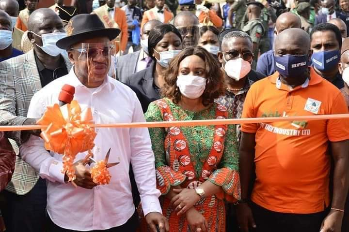 Akwa Ibom Govt Earmarks More Trainings For Youths, Inaugurates Tissue Factory Brandspurng1