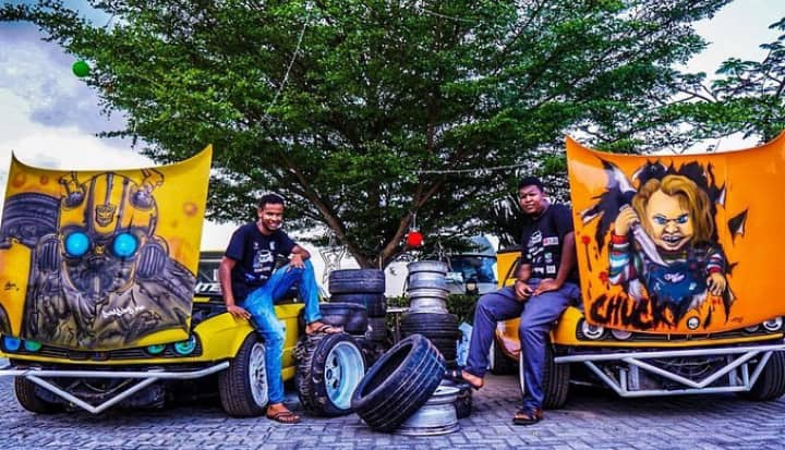 Antonio Sandouk crowned BETKING King of Drift at Lagos Autofest Brandspurng5