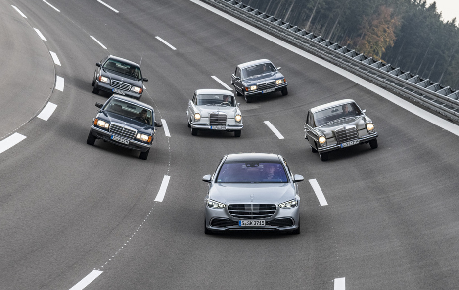 Generations of Innovation: The Mercedes-Benz S-Class