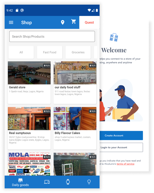 Hicolumn E-commerce Mobile App Ensures Free Access, Easy Download Brandspurng