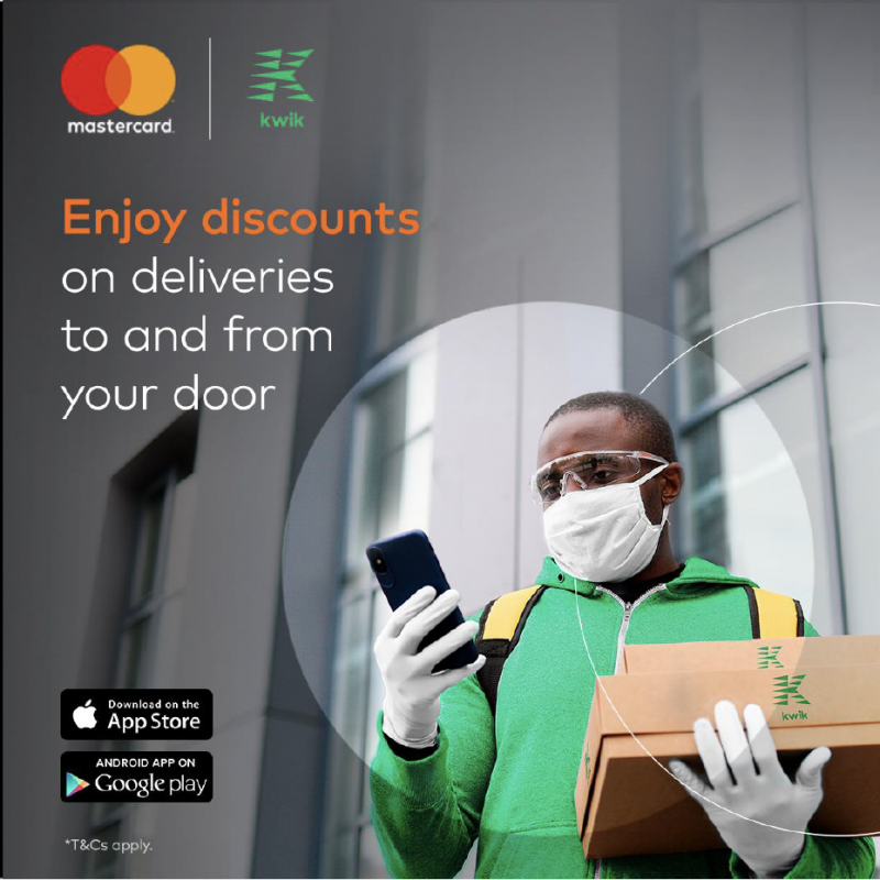 Kwik Delivery and Mastercard Partner to Provide Discounts to Nigerian Cardholders
