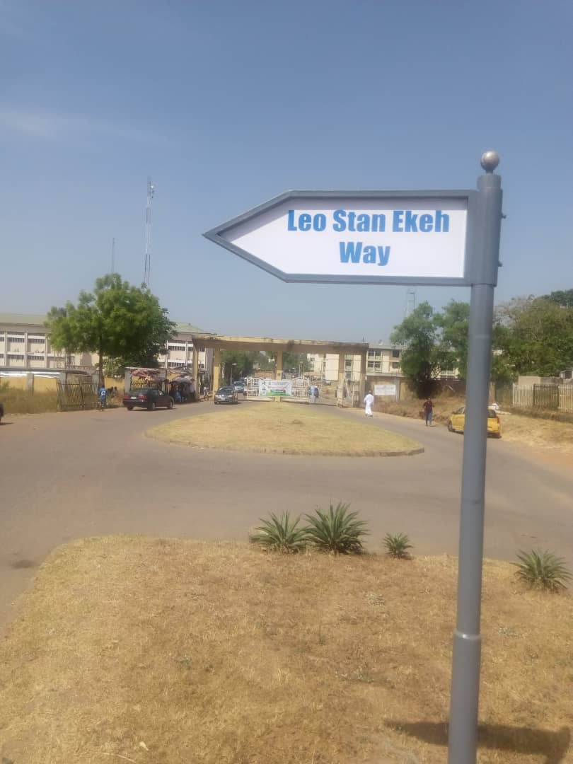 Leo Stan Ekeh Way Brandspurng AMAC names Abuja street after Ekeh, Zinox boss, as Igbo Business leaders honor Him