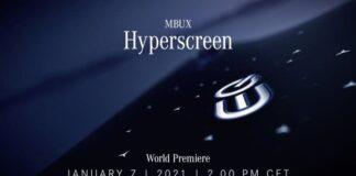 Mercedes-Benz unveils the MBUX Hyperscreen Brandspurng