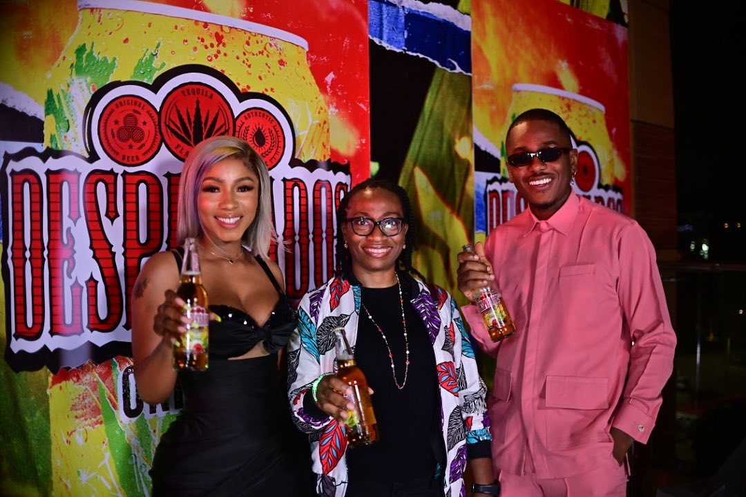 Nigerian Breweries Plc Launches Desperados, A Tequila Flavoured Beer (Photos)