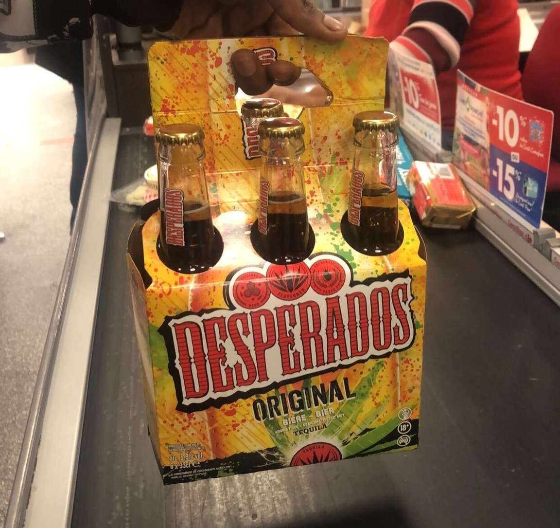 Nigerian Breweries Plc Launches Desperados, A Tequila Flavoured Beer (Photos)