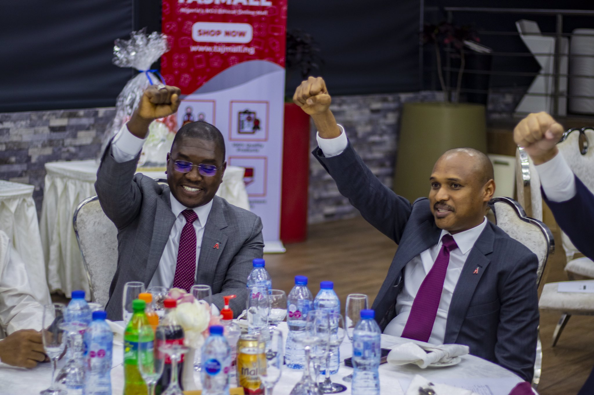 Photo News Brandspurng TAJBank Celebrates 1st Anniversary...breaks even in 9 months of operations