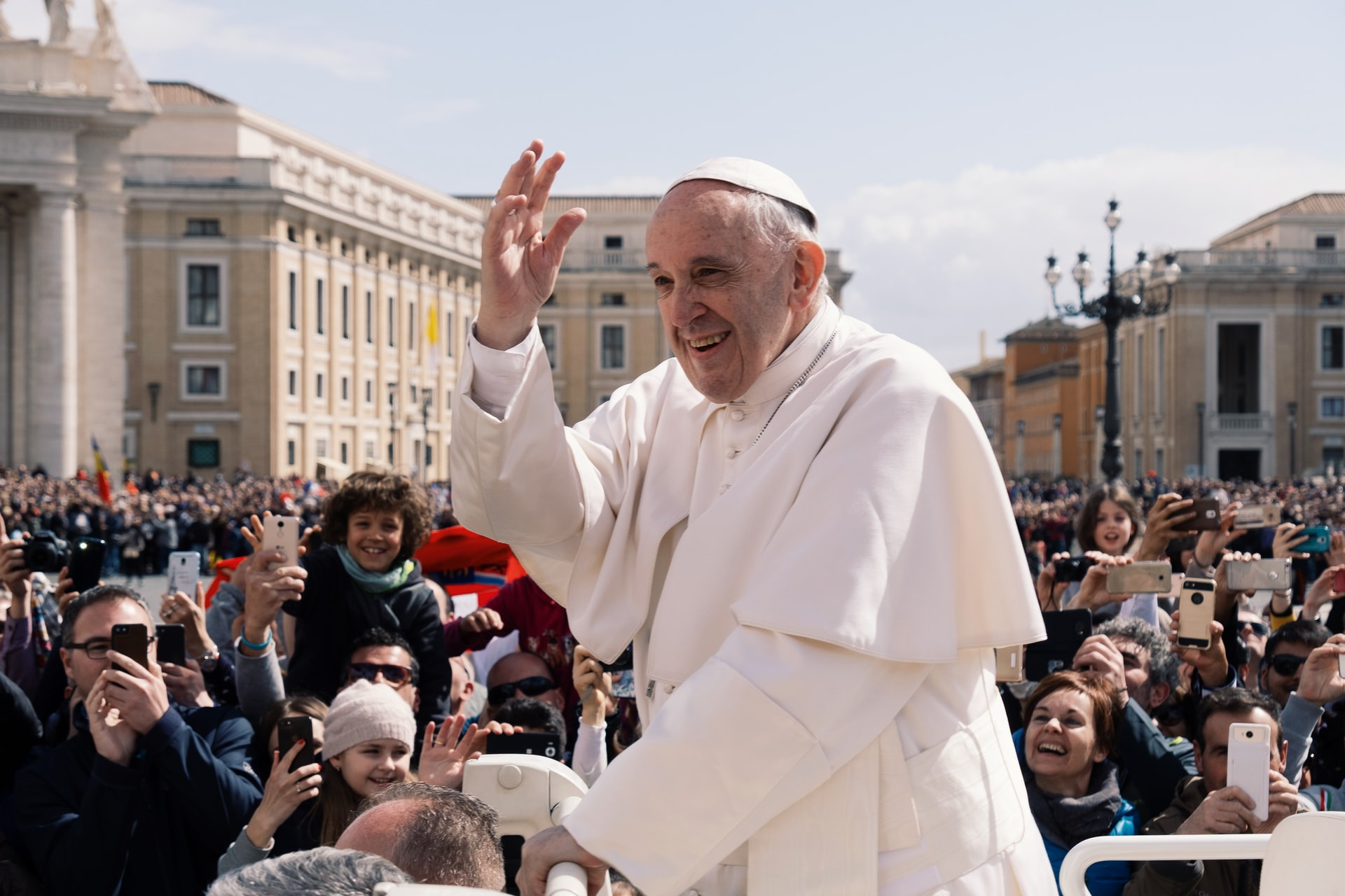 Pope Francis joins 25 countries to fight against poverty and hunger in first round of pledges to IFAD