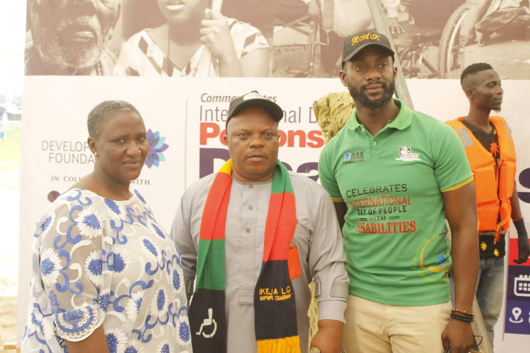 RAK Foundation Celebrates World Disability Day, Reached Out to 500 in Badagry