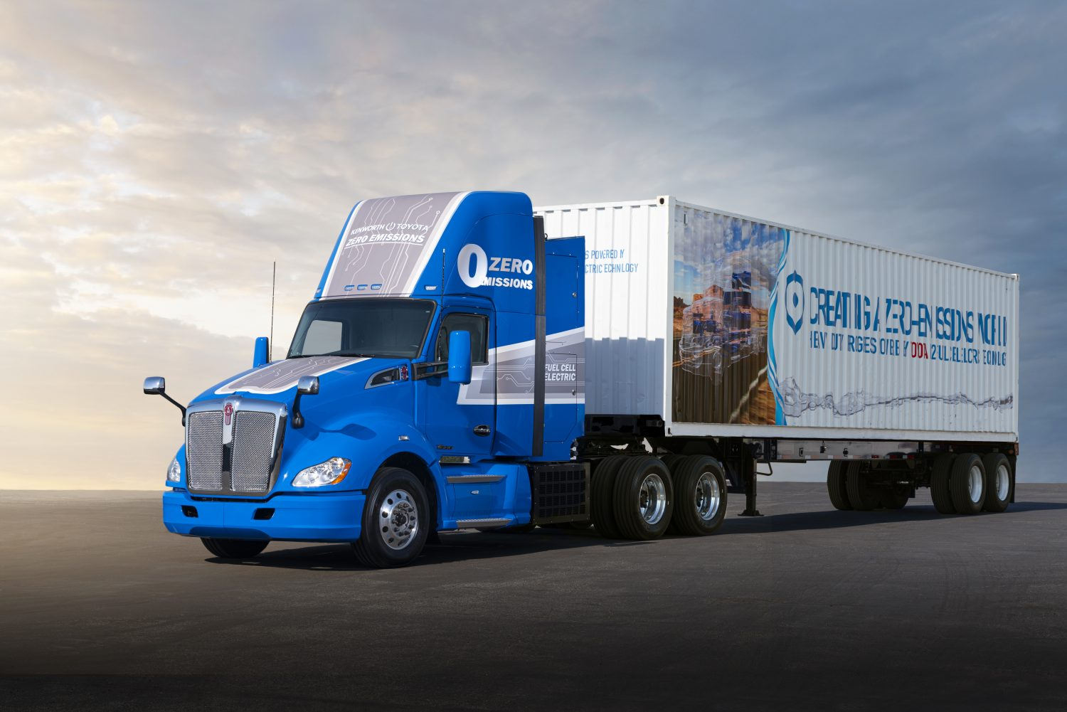 Toyota Moves Closer to Production with Next Generation Fuel Cell Electric Technology for Zero-Emissions Heavy Duty Trucks Brandspurng