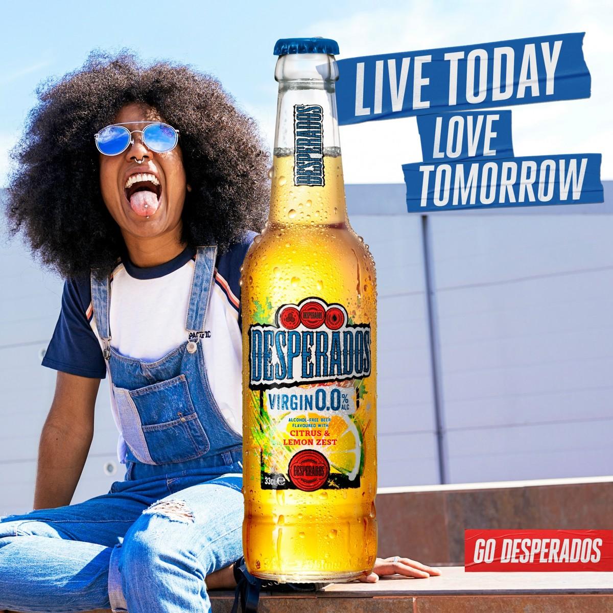 Desperados Launches Alcohol-Free Innovation, Desperados Virgin 0.0% Brandspurng1