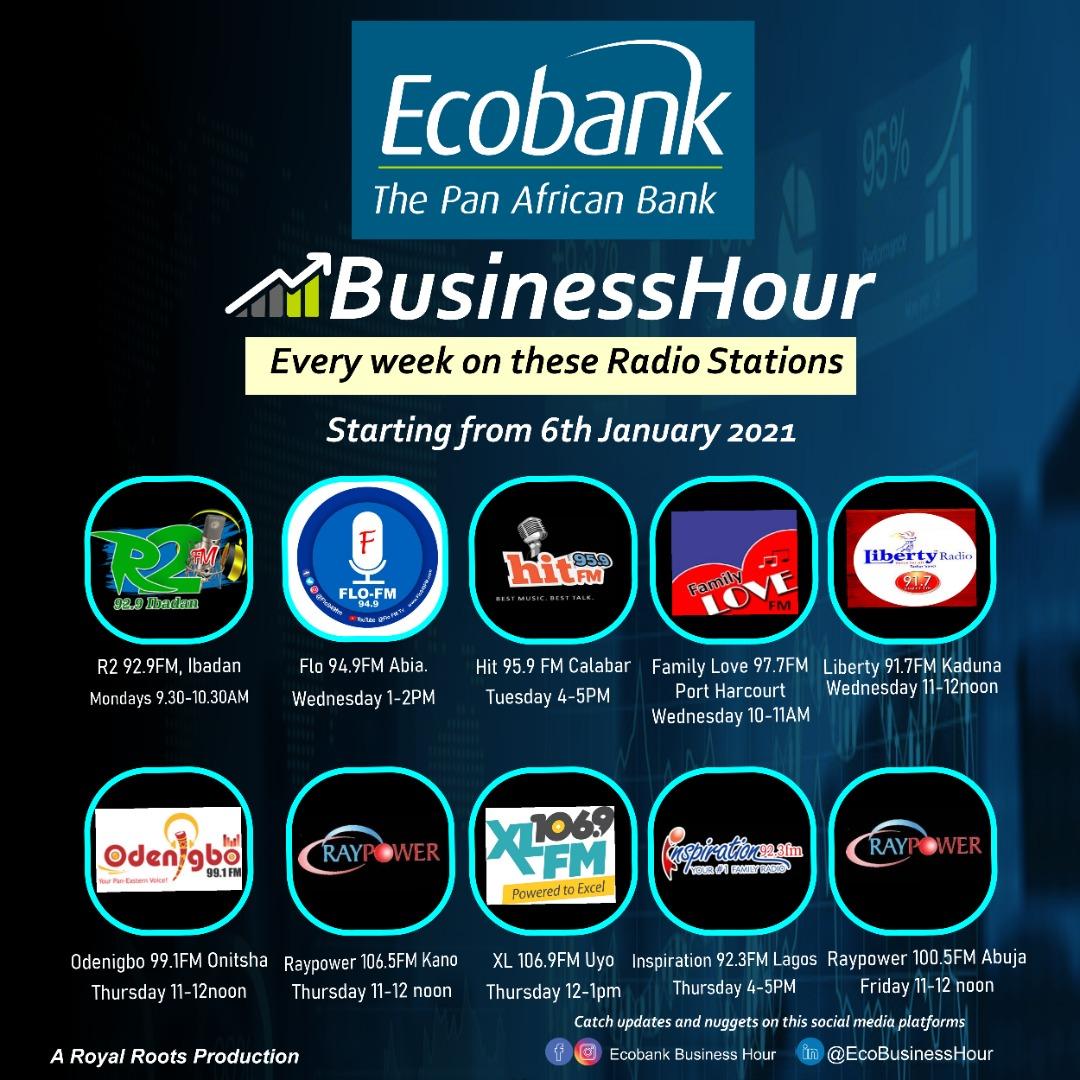 Ecobank Nigeria Launches Radio Program for SMEs