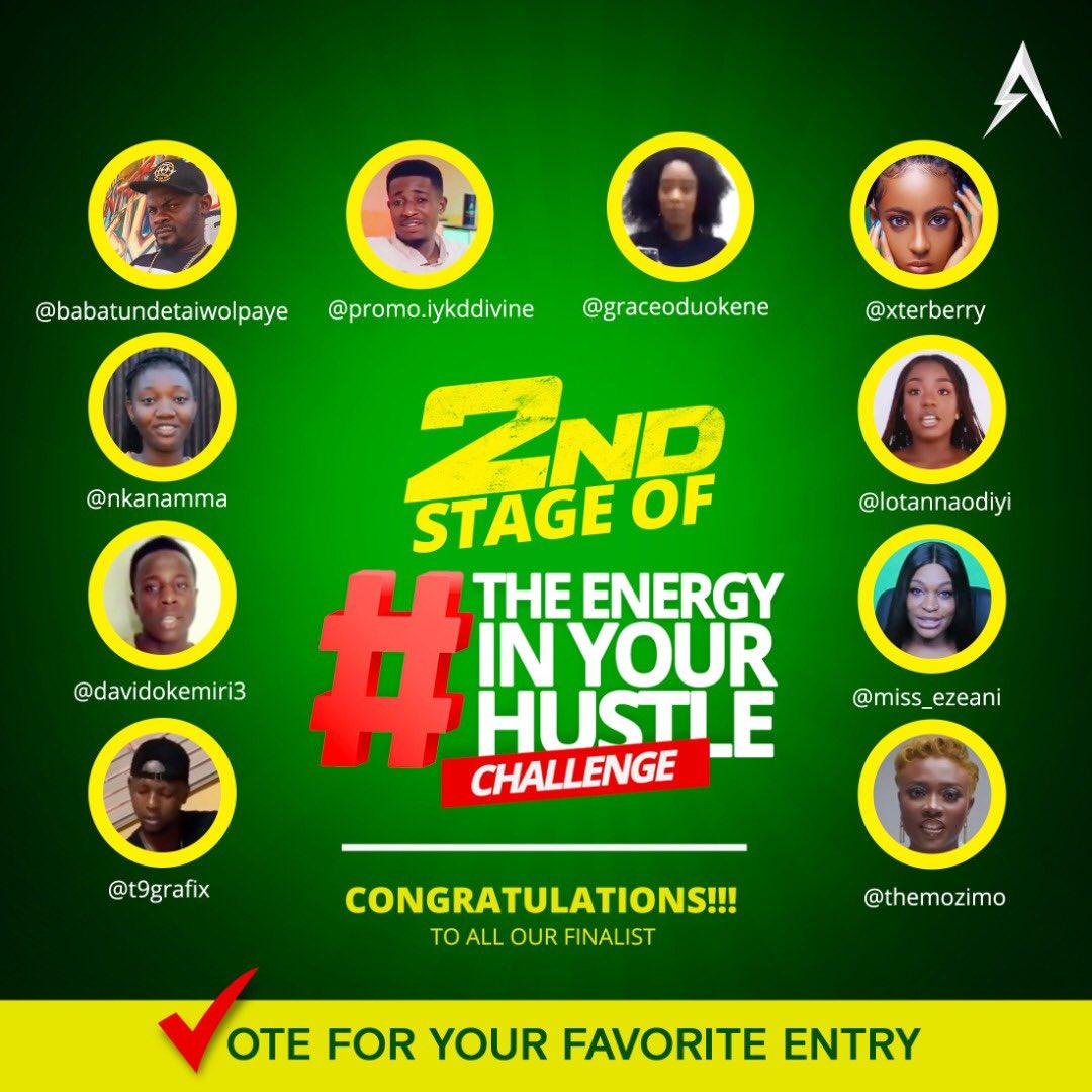 #EnergyInYourHustle Challenge brandspurng Amber Energy Drink Announces Top 20 Finalists