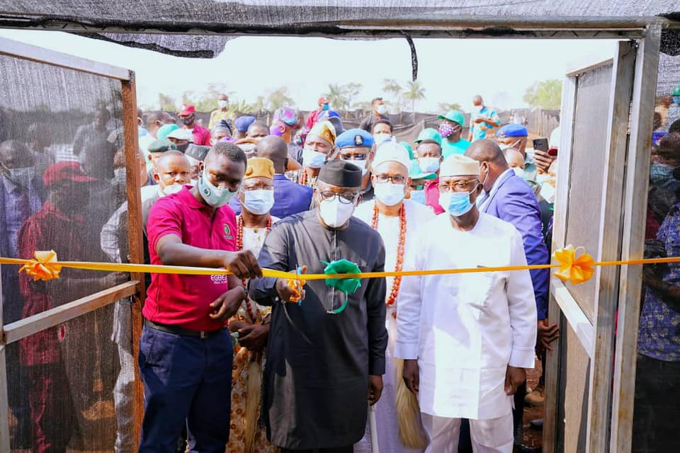 Gov. Fayemi Inaugurates Egbeja Snail Village In Okemesi Ekiti (Photos)