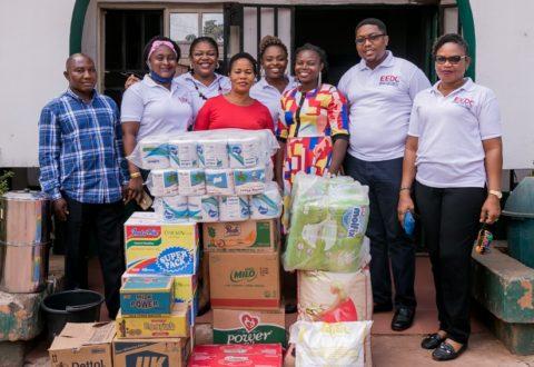 International Volunteering Day Brandspurng Henkel Nigeria Team Visits Children's Homes In Ibadan