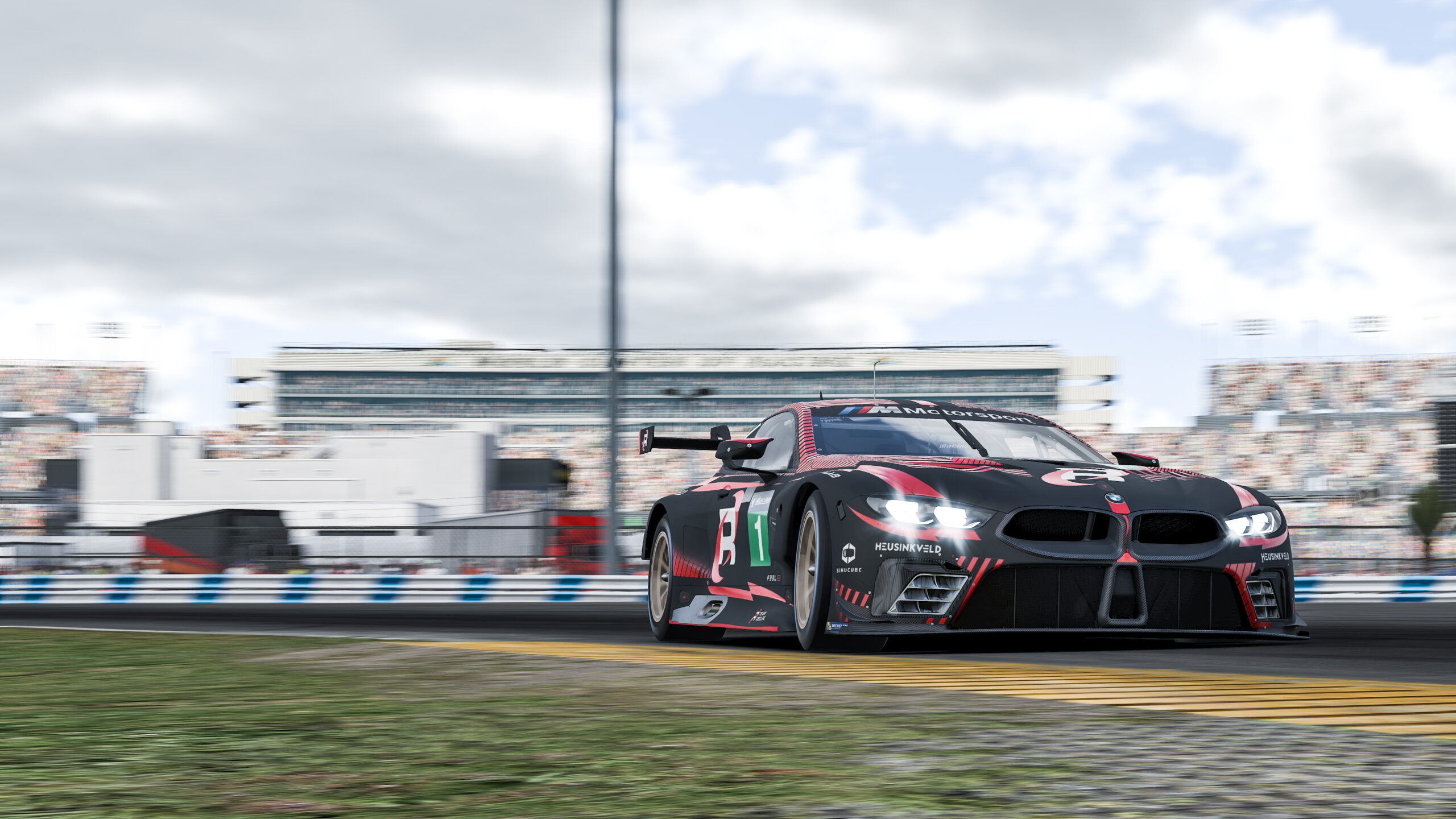January delivers first highlights of the racing year for BMW Motorsport SIM Racing teams Brandspurng3