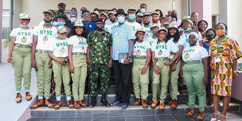 NYSC partners with IITA to create opportunities for Nigerian youth Brandspurng1