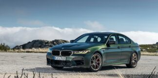 The new BMW M5 CS Brandspurng1