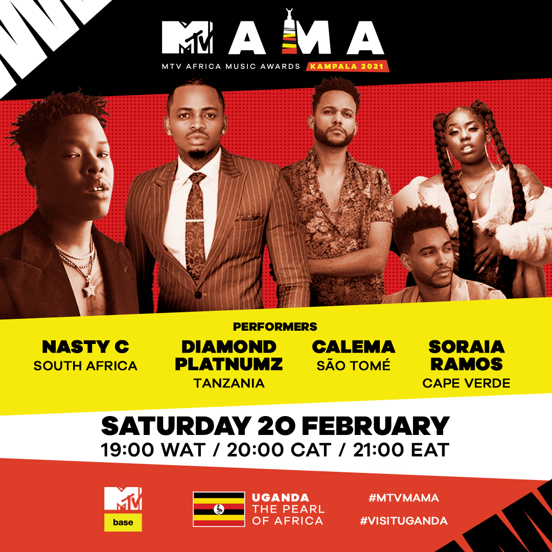 Wizkid, 7 Others announced as first performers for virtual MTV Africa Music Awards Kampala 2021