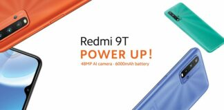 Xiaomi Launches Redmi 9T In Nigeria Market