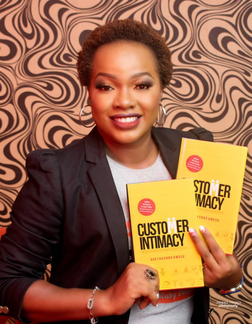 Adetokunbo Amosu launches book as she clocks 40 Brandspurng