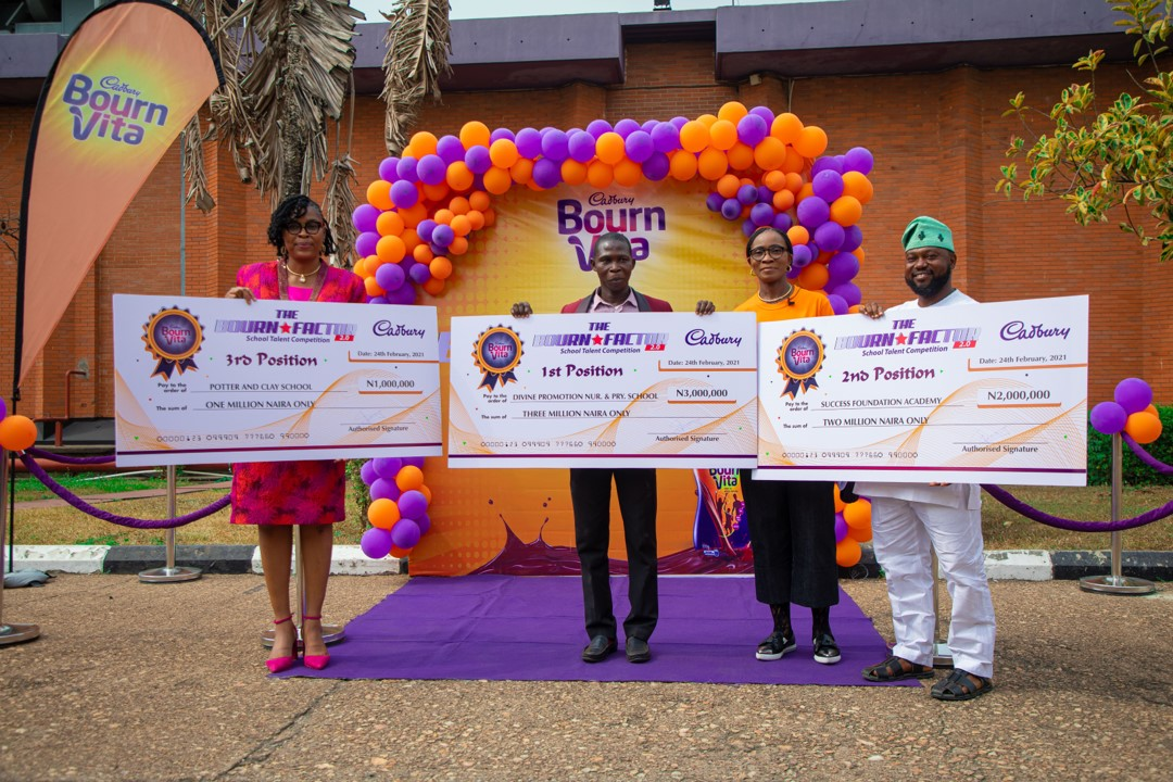 Bournfactor Image Option 1 - Brandspurng Cadbury Nigeria rewards Bourn Factor Season 2 winners