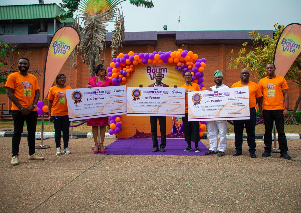 Bournfactor Image Option 3 - Brandspurng Cadbury Nigeria rewards Bourn Factor Season 2 winners