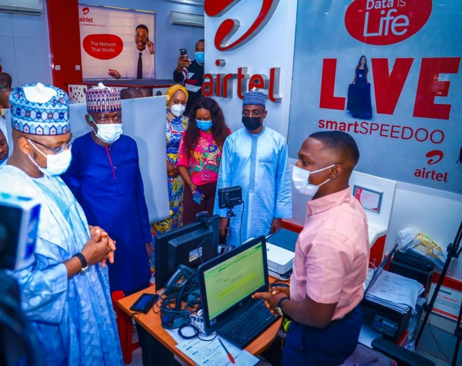 Communication Minister, Pantami, Commends Airtel for Compliance with ongoing NIMC Enrolment Exercise Brandspurng