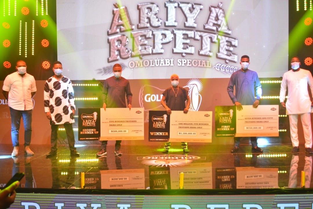 Goldberg Ariya Repete Wraps Up In Style