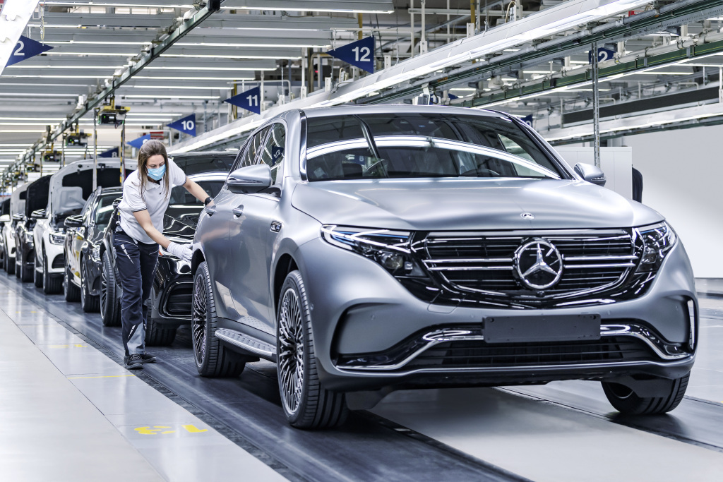 Produktionsjubiläum bei Mercedes-Benz: 50 Millionen Fahrzeuge aus globalem ProduktionsnetzwerkProduction anniversary at Mercedes-Benz: 50 million passenger cars from the global production network