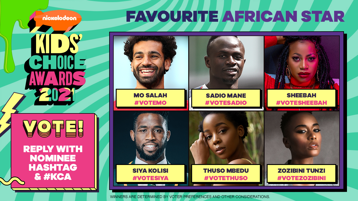 Ikorodu Bois, Emmanuella, and Others nominated for Nickelodeon's Kids' Choice Awards 2021