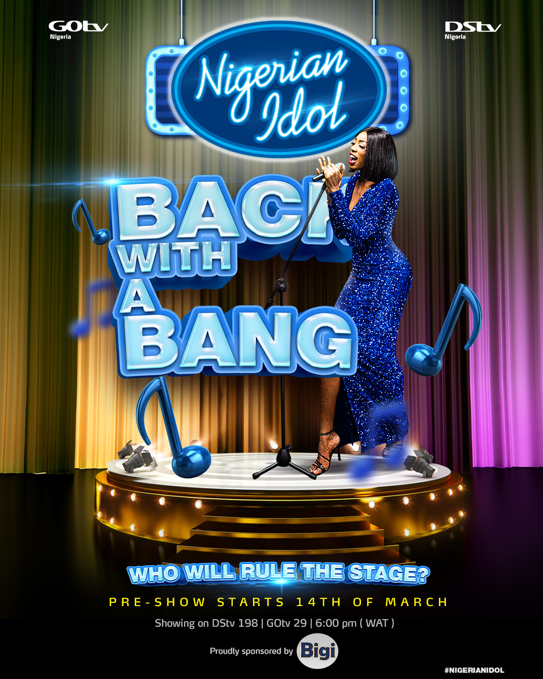Nigerian Idol Season 6 Set To Hit DStv and GOtv Screens This March Brandspurng
