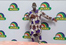Nigeria's Tallest Man Partners With Mouka Brandspurng