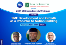 P&G BOI WEBINAR Brandspurng Procter & Gamble, FG and BoI announces the launch of the 2021 P&G - BoI SME Academy