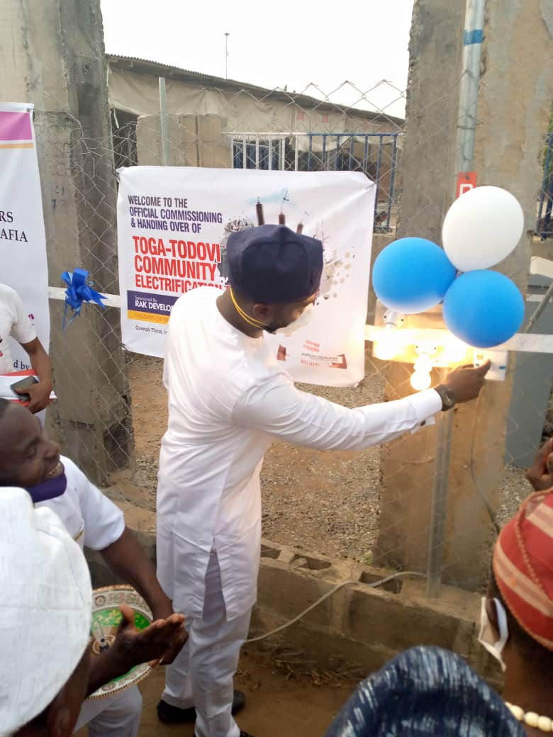 RAK Powers 7 Badagry Communities out of Darkness