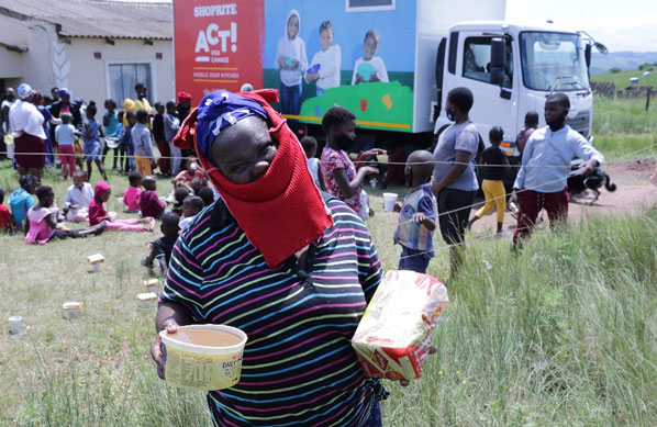 Shoprite increasing food security efforts and ensuring job security for workforce during COVID-19 Brandspurng