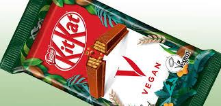 vegan kitkat brandspurng nestle