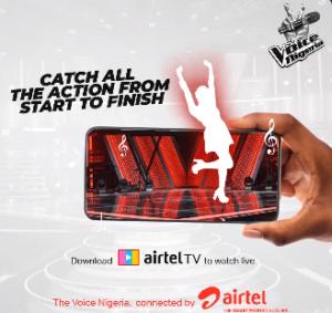 Airtel Announces Sponsorship of The Voice Nigeria Season 3 Brandspurng