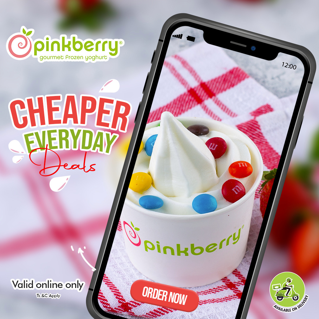 Bringing Swirl To Your Pockets With The New Pinkberry Ecommerce Website