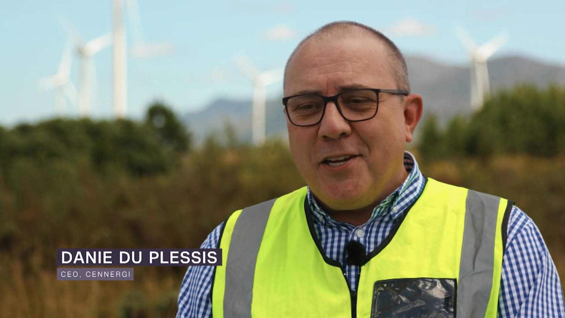 Danie Du Plessis on CNN's Connecting Africa-Brand Spur Nigeria