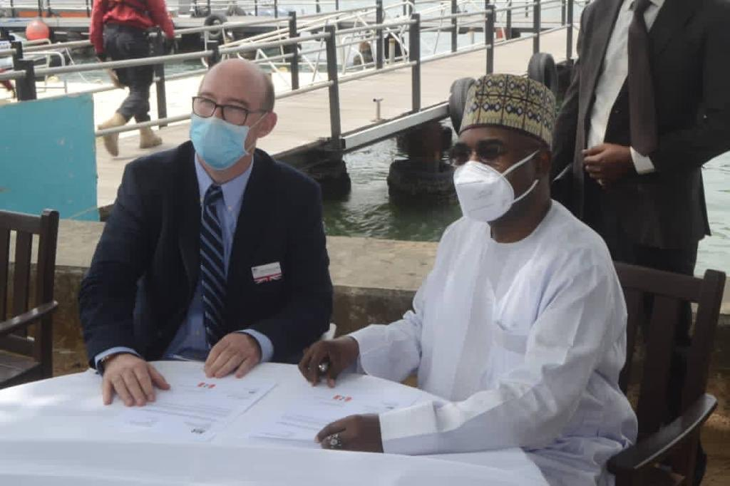 Drug War: British Govt Donates Speedboat, As NDLEA Boss Talks Tough (Photos)