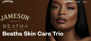 Jameson Whiskey Makes Surprise Move Into Beauty; Launches Skincare Range With Ayanda Thabethe Brandspurng