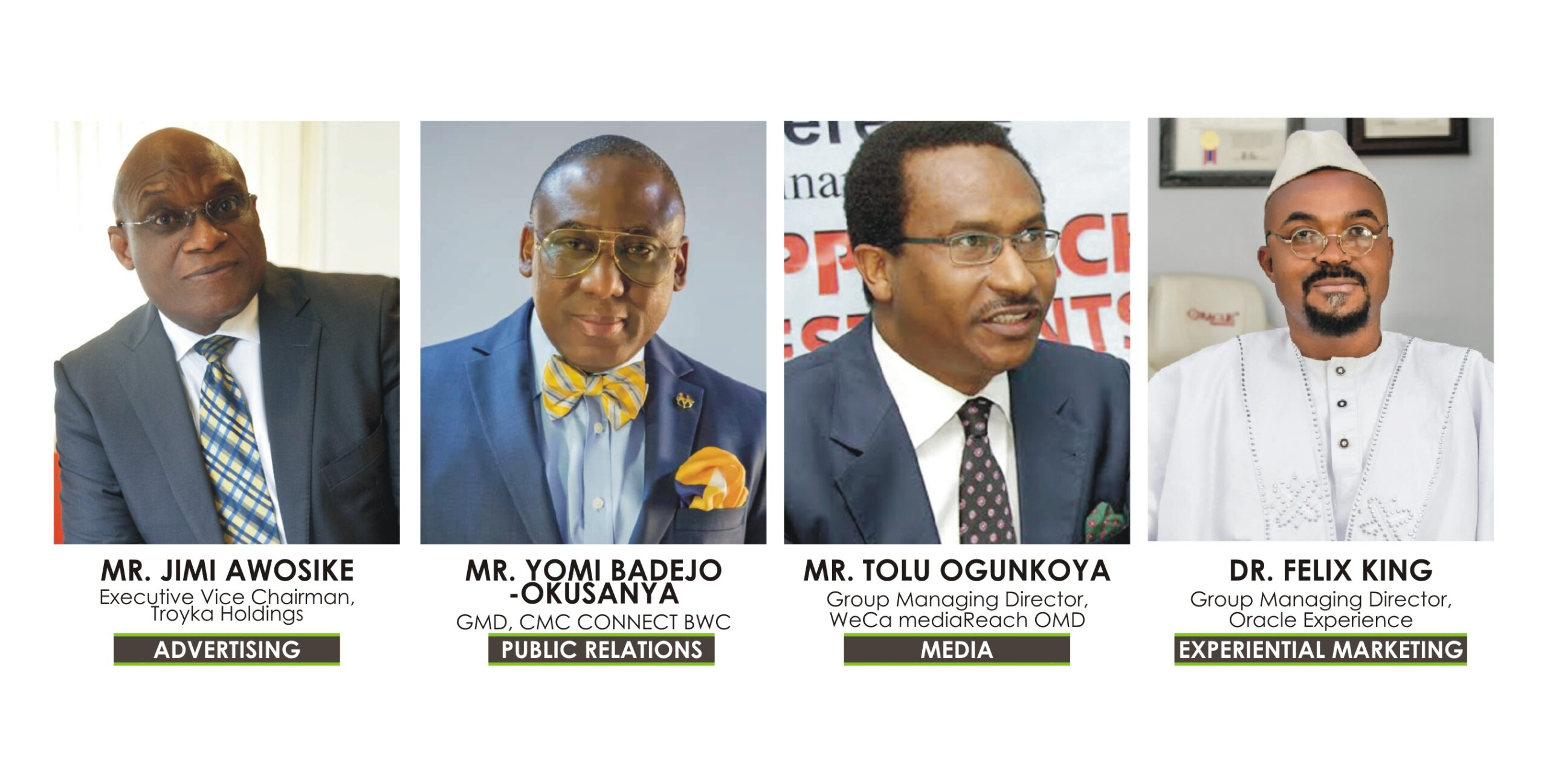 Awosika, Badejo-Okusanya, Ogunkoya, Others To Receive Industry's Highest Honour In 2021- Brand Spur Nigeria